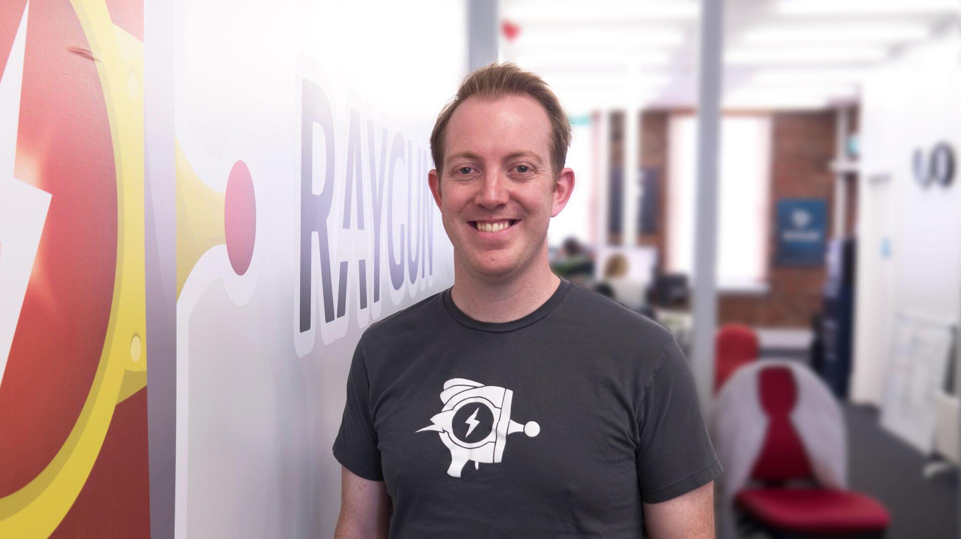 John-Daniel Trask, CEO of Raygun
