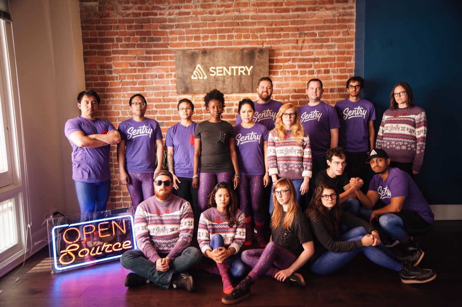 Sentry team photo