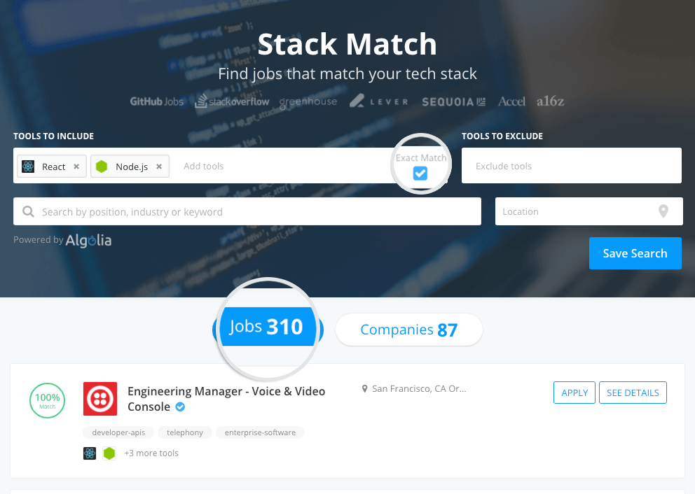 Product Update: New Stack Match Features