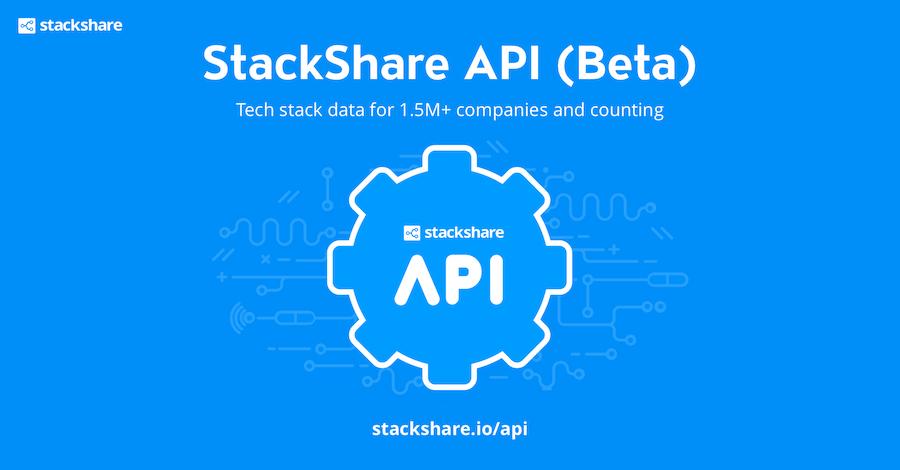 StackShare API Beta