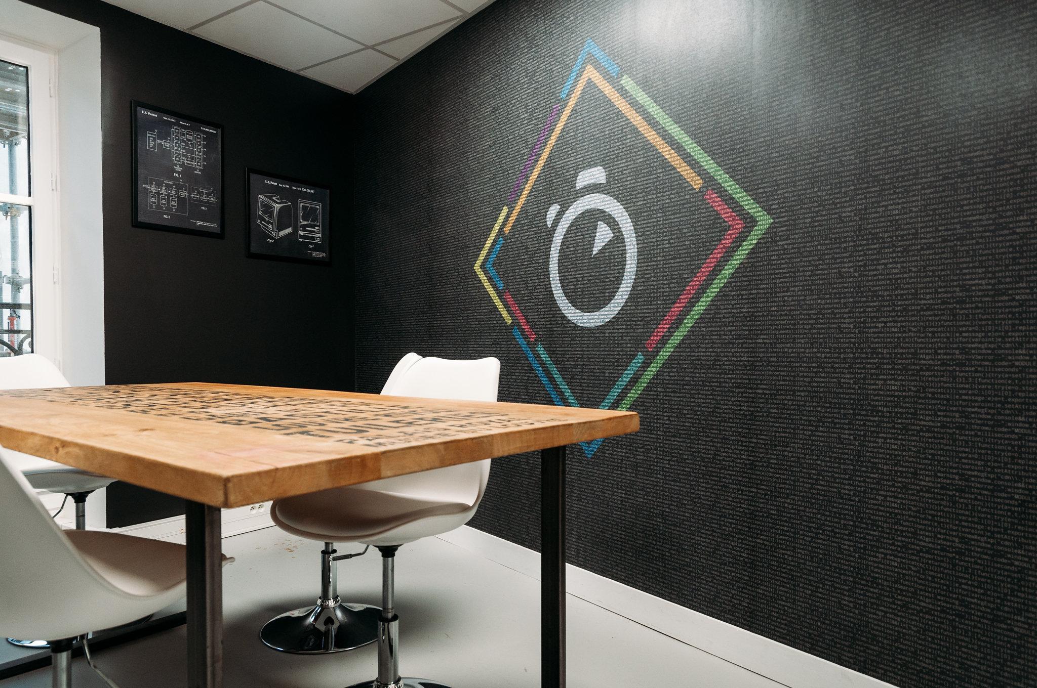 Algolia Paris meeting room