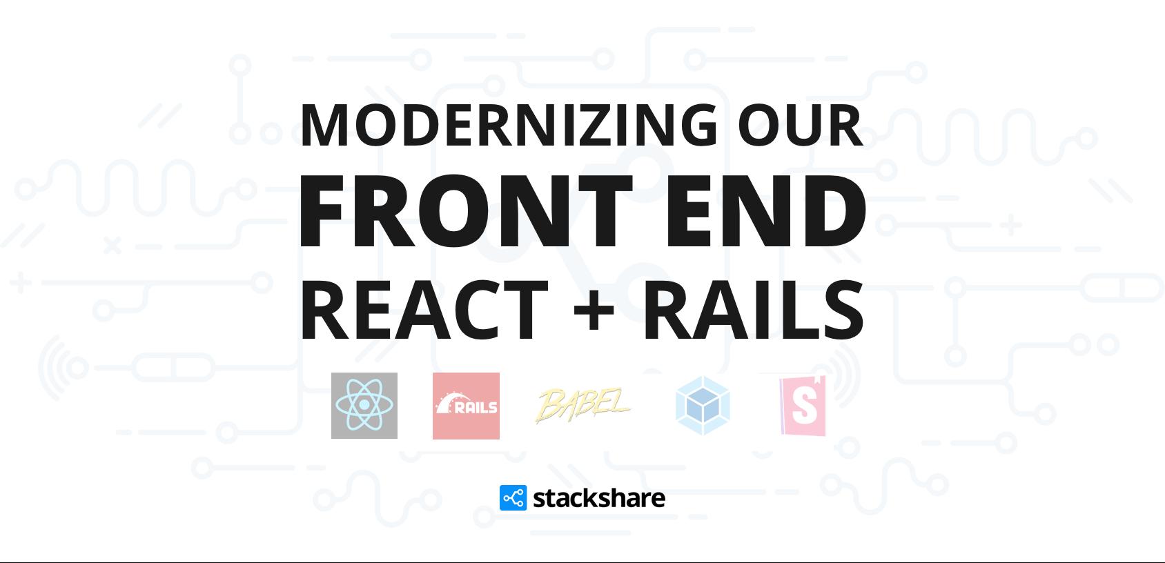 StackShare's Front End Upgrade