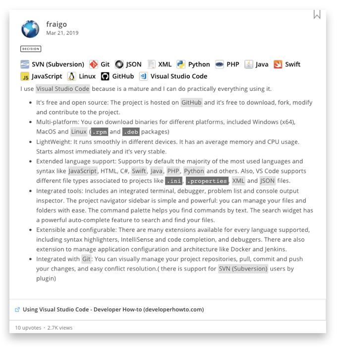 Why Developers Love Visual Studio Code   StackShare
