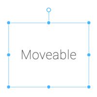 Moveable logo