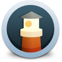 Lighthouse fluid icon