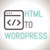 HTML to Wordpress logo