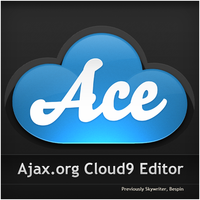 Ace cloud9 editor social media icon