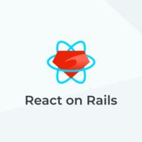 React on Rails logo