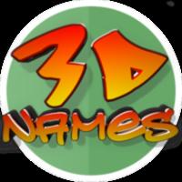 3D Names logo