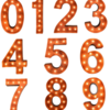 Marquee Lights Numbers
