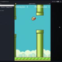 NEAT in Flappy Bird logo