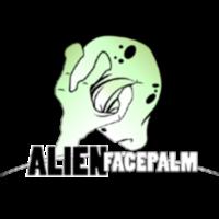 alienfacepalm